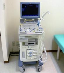 超音波検査:GE社LOGIQP5